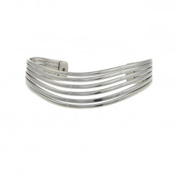 Cavendish French Silver Six Split Bangle 2701