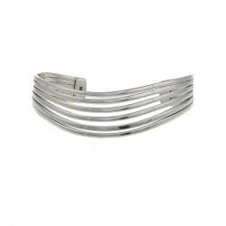 Cavendish French Silver Six Split Bangle 2701