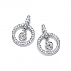 Cavendish French Floating Free CZ Earrings 5015