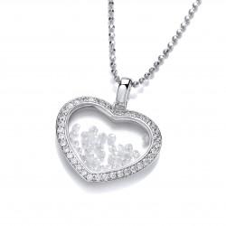 Cavendish French Silver Venus Pendant and Chain 6295