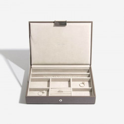 Stackers Mink Classic Jewellery Box Set of 3 70797