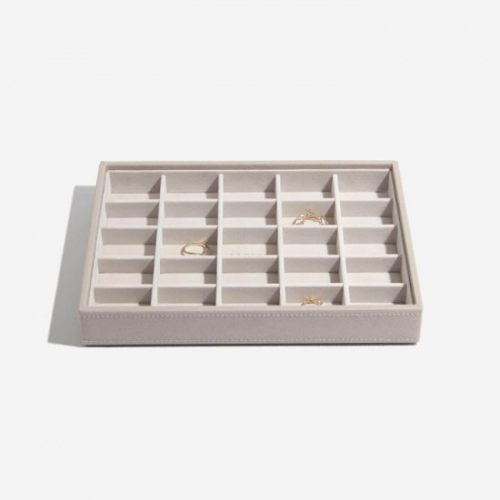 Stackers Taupe Classic Jewellery Box Set of 3 73774