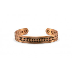 Magnetic Patterned Bangle BA134LM