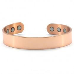 Magnetic Plain Copper Bangle BA175LM