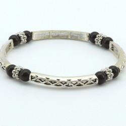 Magnetic Hematite Bead Celtic Bracelet MH1006