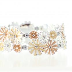 Magnetic Yellow Flower Bracelet MH3388