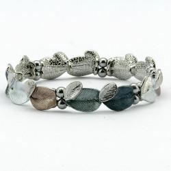 Magnetic Leaf Design Bracelet MH3477
