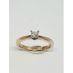 Pre Owned 18ct Princess Cut Diamond Ring ZF561