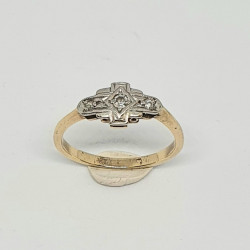 Pre Owned 18ct Diamond Ring ZG974