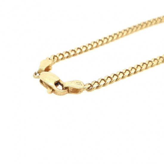 Pre Owned 14ct Curb Chain ZK497