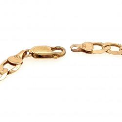 Pre Owned 9ct Figaro Bracelet ZK519