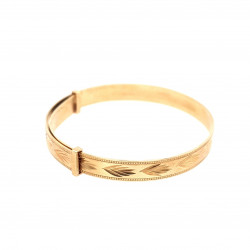 Pre Owned 9ct Baby Bangle ZL204