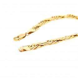 Pre Owned 9ct Fancy Link Bracelet ZL90