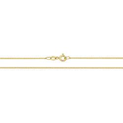 """9ct Gold Curb Chain  CH160 18"""""""