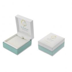 Sea Gem Silver Shell Dropper Earrings P1326