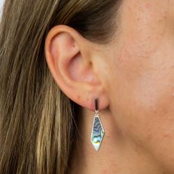 Fiorelli Silver Asymmetric Earrings E5895