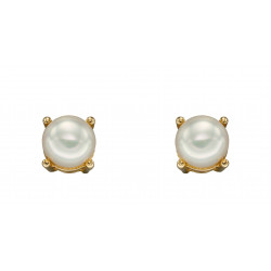 Birthstone 9ct Gold June Birthstone Stud Earrings GE2331