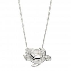 Silver Turtle Pendant P4932