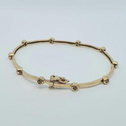 Pre Owned 9ct Diamond Bracelet ZH692