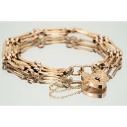 Pre Owned 9ct Rose Gate Bracelet ZK230