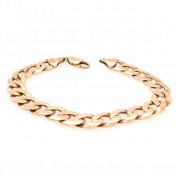 Pre Owned 9ct Curb Bracelet ZK448