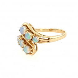 Pre Owned 14ct Opal Style Ring ZK451
