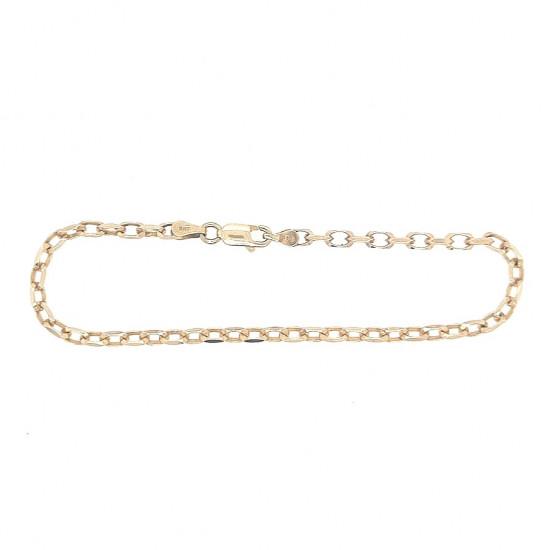 Pre Owned 9ct Filed Belcher Bracelet ZK892