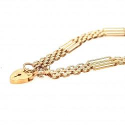 Pre Owned 9ct Gate Bracelet ZL11