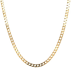 Pre Owned 9ct Square Curb Chain ZL287