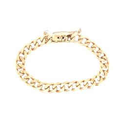 Pre Owned 9ct Curb Bracelet ZL290