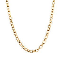 Pre Owned 9ct Belcher Chain ZL443