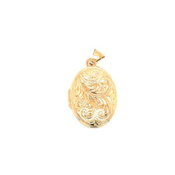 Pre Owned 9ct Family Locket ZL444