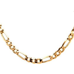 Pre Owned 9ct Figaro Chain ZL458